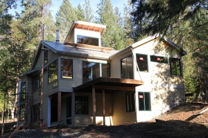 Jaloma Woods Residence Rogue River, Oregon drawing for Architect client Completed 2013 Lower level 1115 s.f. Upper level 1457 s.f.